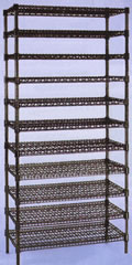 Designer Wire Shelving